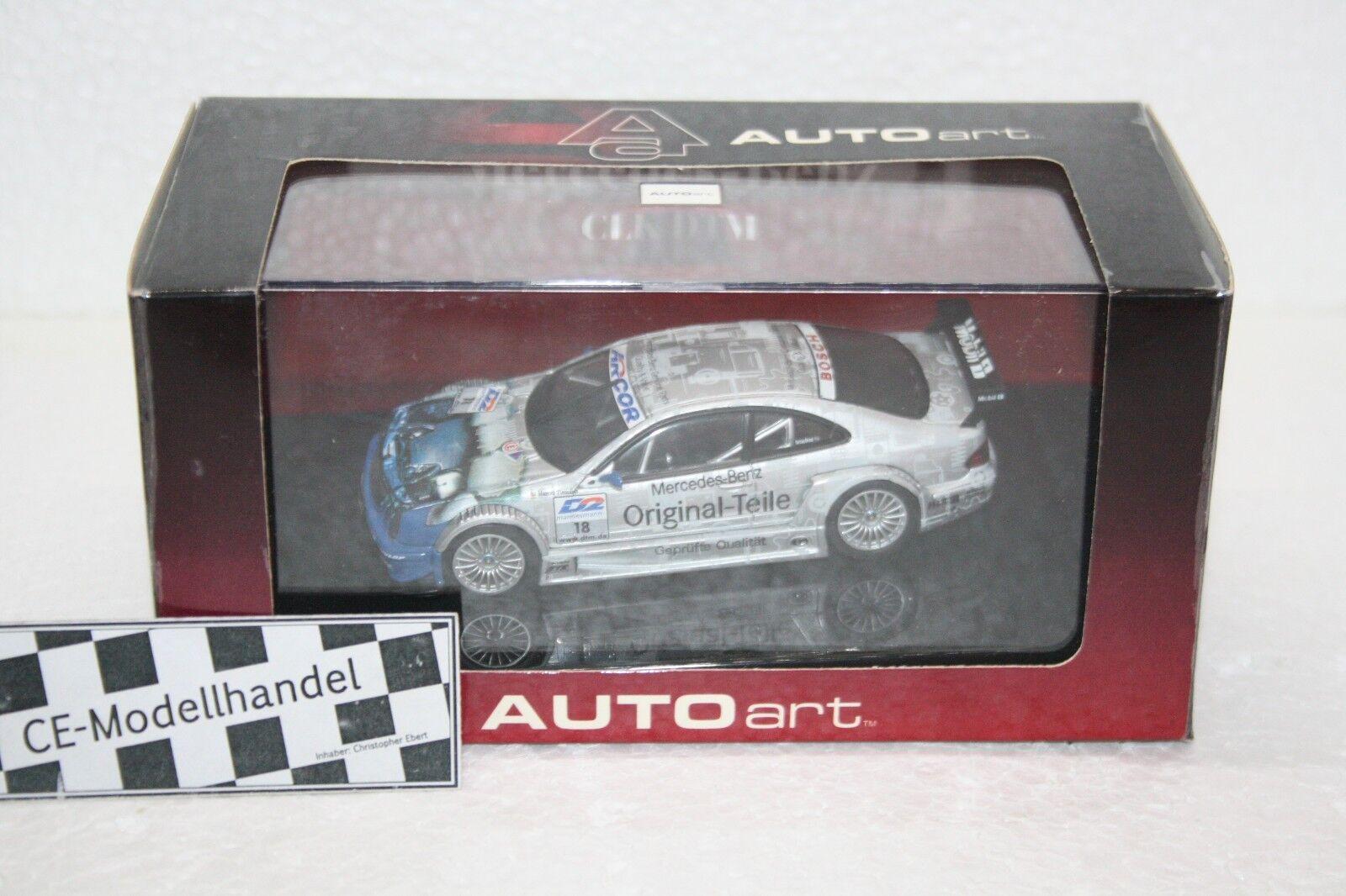 Mercedes-Benz CLK-DTM AMG     18 M Tiemann  2000  AUTOART  1 43 08b6e2
