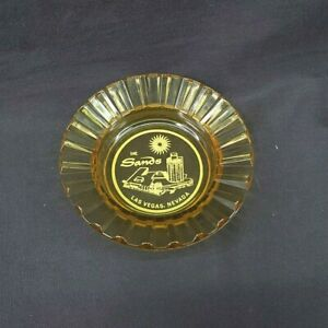 VINTAGE-60-039-S-SANDS-HOTEL-CASINO-4-5-034-ADVERTISING-SUNBURST-ASHTRAY-LAS-VEGAS-NV
