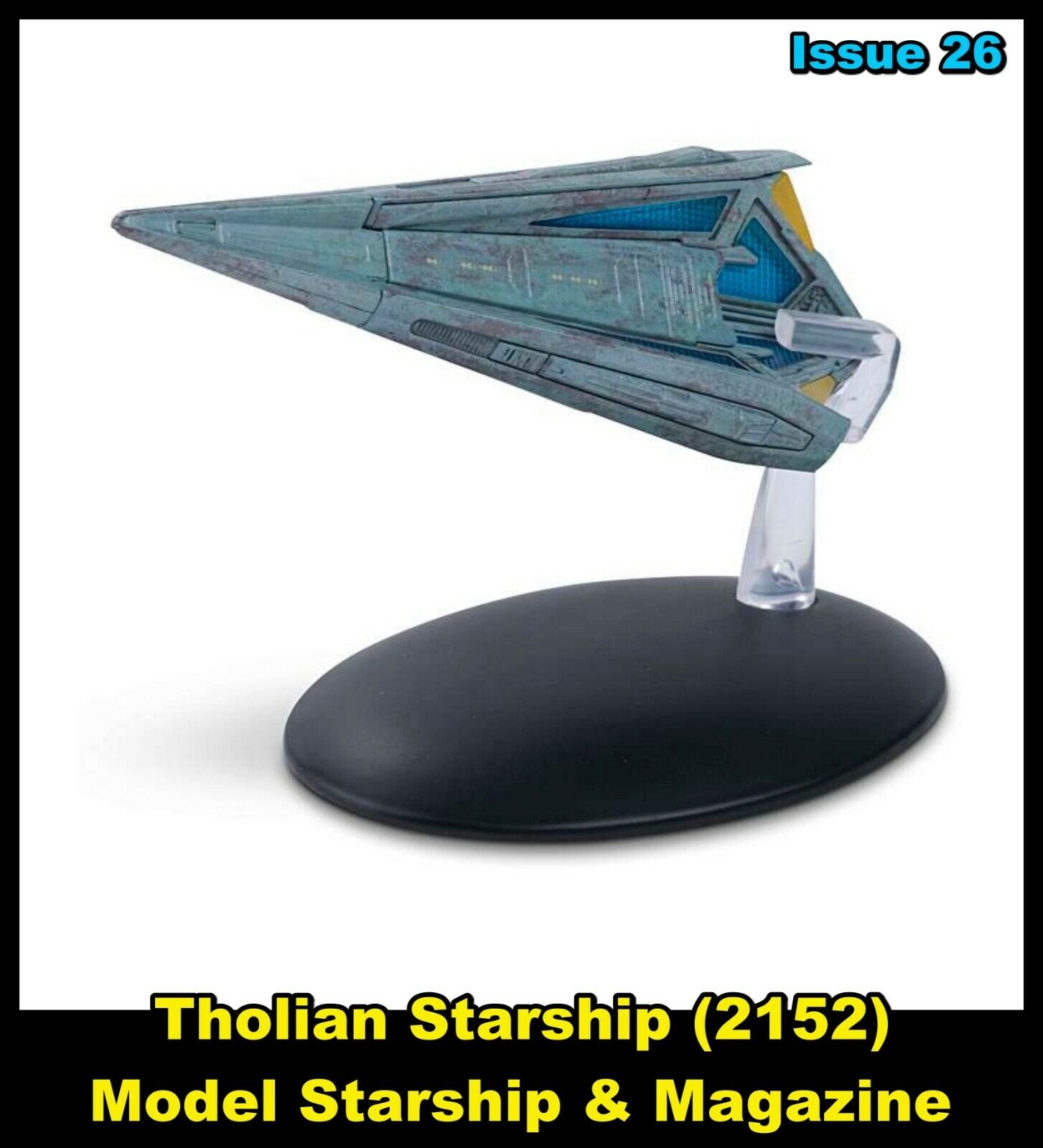 Issue 26: Tholian Starship (2152) Model