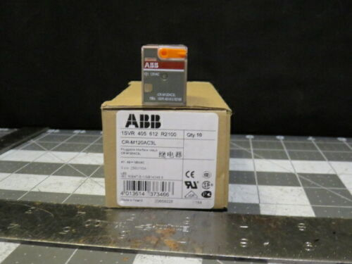CR-M120AC3L ABB Pluggable Interface Relay CR-M120AC2L CR-M230AC2L