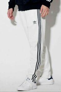Viaje Confiar lanzamiento  Nuevo Para Hombres Adidas Originals Beckenbauer Trébol Pantalones de pista  ~ Grande #DV1518 Blanco | eBay