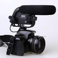 BOYA BY-VM190 Stereo Video Shotgun Microphone for Canon Nikon Camera Camcorder