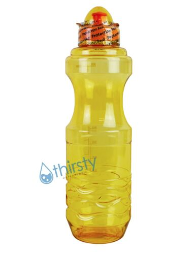environ 963.87 g 1 L Sports Bouteille d/'Eau Plastique Buvant Gourde Gym Pot Récipient H2O 34 Oz