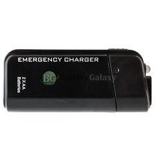 USB Emergency Portable 2 AA Battery Power Charger for LG Phoenix K3 K4 K7 K8 K10