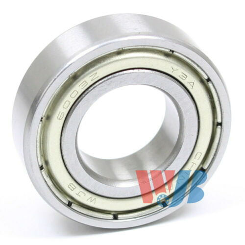Radial Ball Bearing 6003-ZZ Light Series With 2 Metal Shields 17x35x10mm