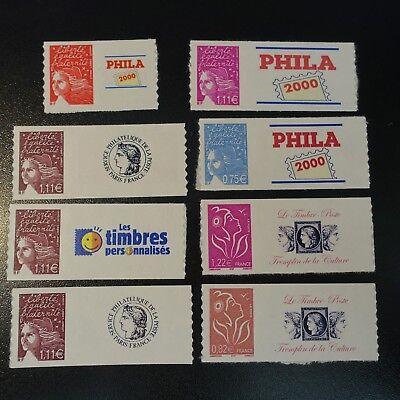 Briefmarken Frankreich & Kolonien Packung Briefmarken Klebend Marianne Benutzerdefiniert Logo PrivÉ Neuf Mnh