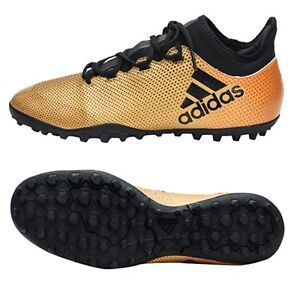 presumir Correo aéreo Excepcional  Adidas Men Techfit X Tango 17.3 TF Cleats Futsal Gold Shoes Soccer Spike  CP9135 | eBay