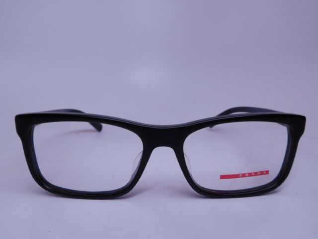 4135a22bd28 Authentic PRADA Sport VPS 05f-f 1bo-1o1 Matte Black 55mm RX ...