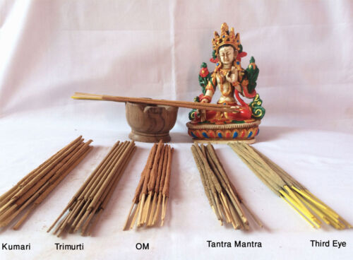 Nepalese Handmade Natural Flora Mix Scent Incense Stick