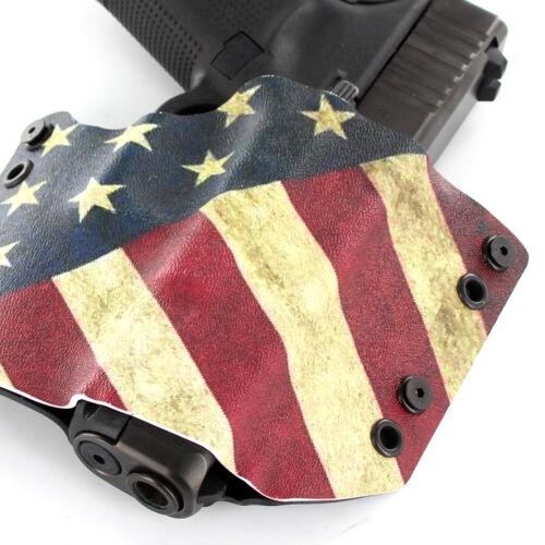 R/&R HOLSTERS Walther USA SLANTED RWB OWB HOLSTER