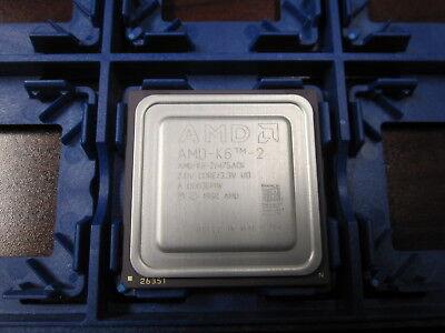 Radient Amd K6-2 Cpu Amd-k6-2/475 Ack 475 Mhz 2.0v Core 3.3v I/o Socket 7 Moderne Technieken