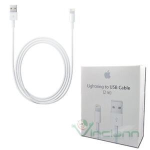 Cavo-Lightning-USB-originale-Apple-per-iPhone-7-4-7-7-Plus-5-5-carica-2-metri