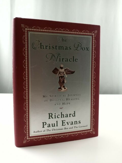 The Christmas Box Miracle by Richard Paul Evans HCDJ 2001 1st Ed 1st Print   eBay