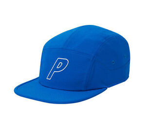 Palace-Skateboard-2016-PALACE-PANEL-BLUE-RIPSTOP-Classic-P-logo-HAT-Cap-Supreme