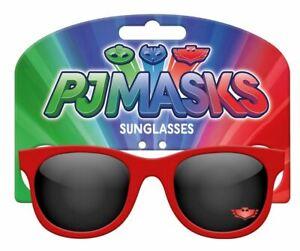 Pyjama-Masques-Enfants-Soleil-Lunettes-1-Paire-de-UV-Protection-Rouge-Vacances