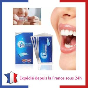 28-Bandes-Strips-pour-Blanchiment-Dentaire-Dents-Blanches-Bandelette-Menthe