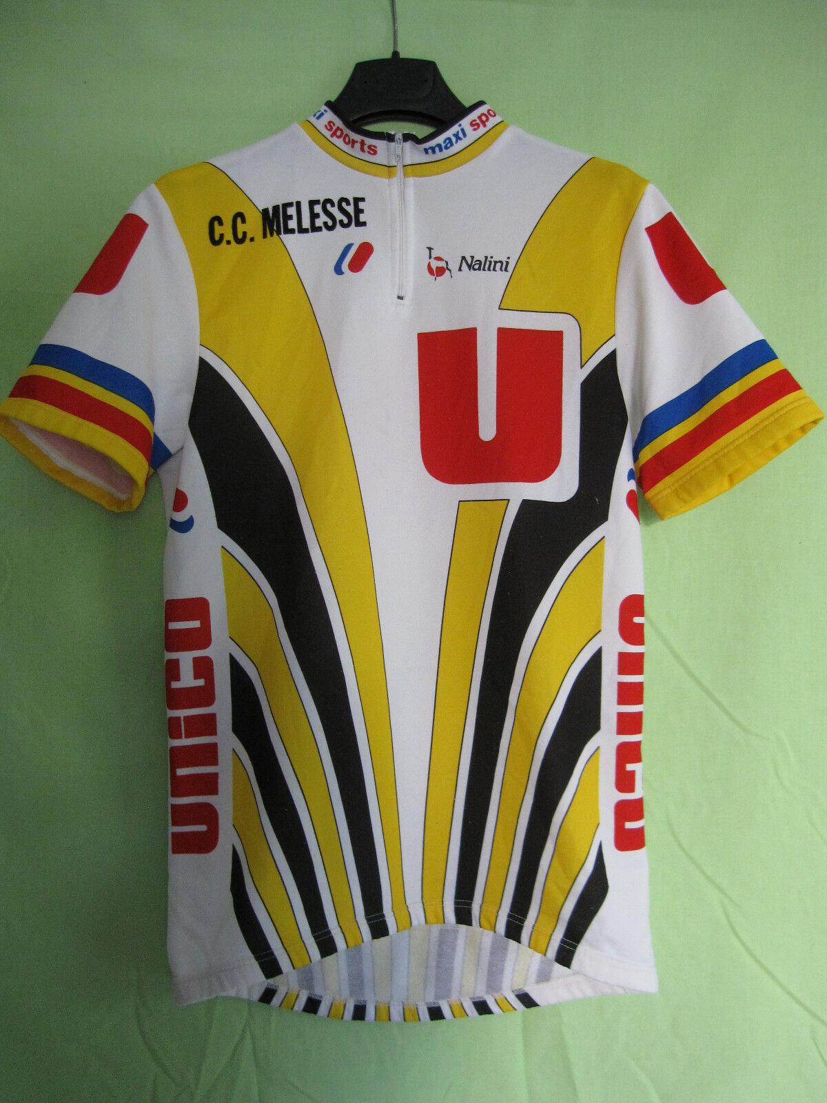 Maillot Cycliste CC vintage Systeme U Unico Nalini CC Cycliste Melesse 80'S jersey - 4 061979