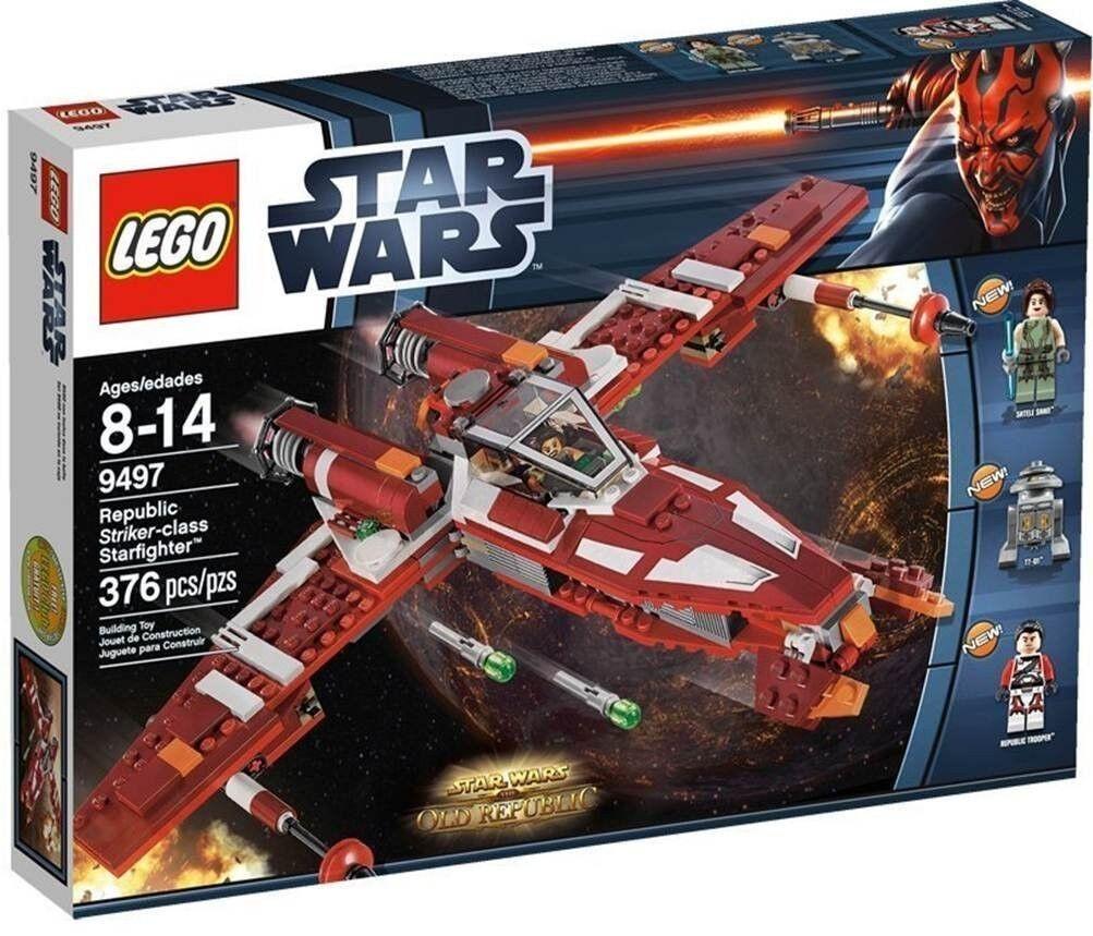 Lego StarWars Republic Striker-class Starfighter (9497) 9497