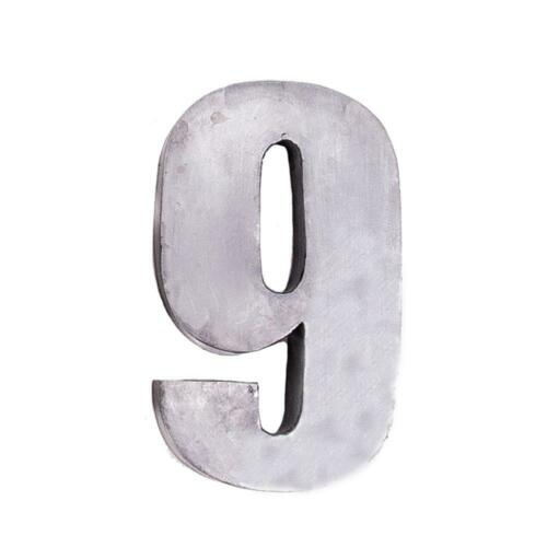 7 inch in Size! Giant House Numbers Fabricated Steel Numbers Signs Digits