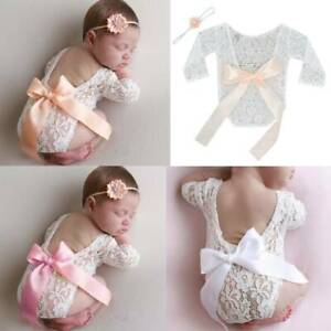 For-Newborn-Baby-Girls-Cute-Floral-Lace-Romper-Bodysuit-Jumpsuit-Clothes-Outfits