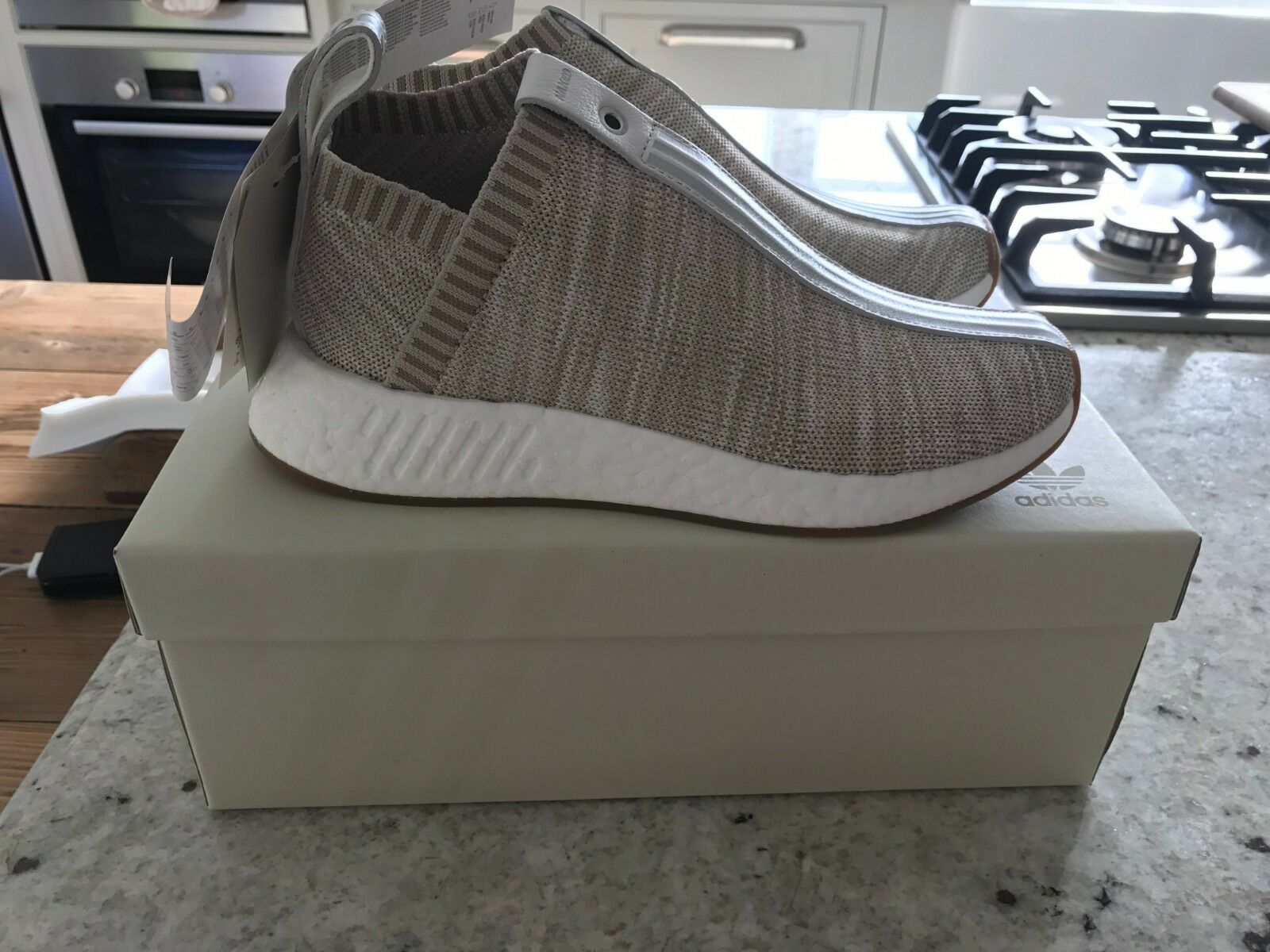 Adidas NMD NMD NMD CS2 x Naked x Ronnie Fieg Beige US 7 NUOVE 7559a0