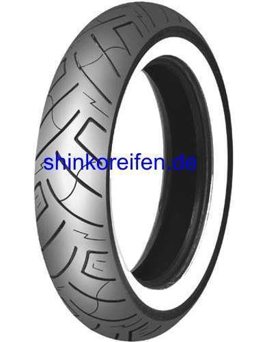 Weißwand Shinko Reifen 130//60-19 67 H TL SR-777 F WW  Whitewall