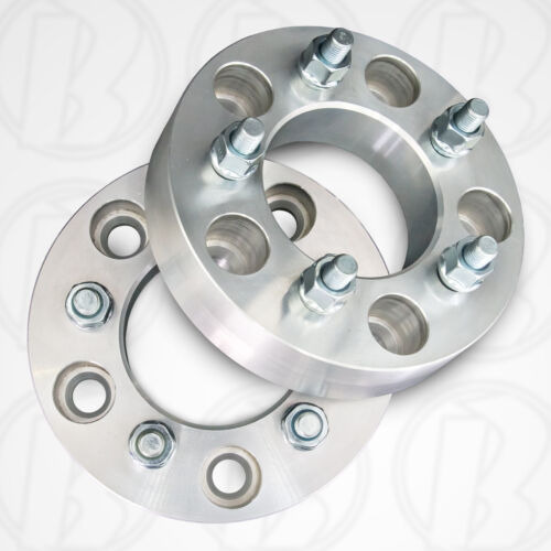 """1.25/"""" Spacers Two 5 x 5/"""" To 5 x 4.5/"""" Wheel Adapters"""