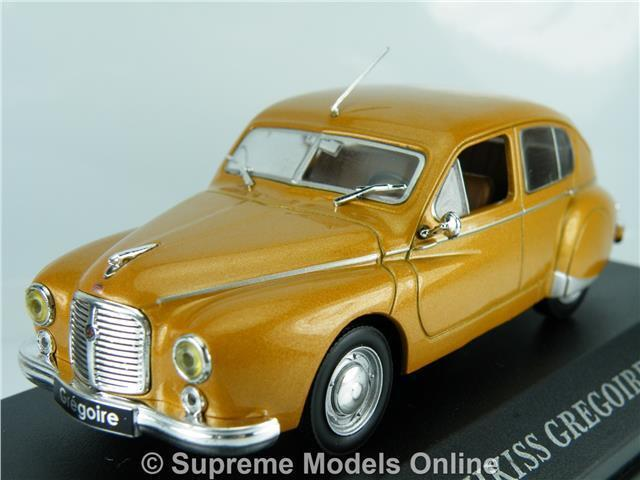 HOTCHKISS GREGOIRE 1952 CAR 1 43RD SIZE MODEL 4 DOOR SALOON VERSION Y0675J^^