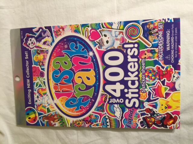 Lisa Frank NEW Collector Set Over 400 Stickers 5 Sticker Sheets Unused