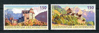 Onbaatzuchtig Liechtenstein 2017 Mnh Palaces & Castles Europa 2v Set Architecture Stamps Duidelijk Effect