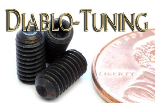 "Black Alloy Steel Socket SET // GRUB SCREWS Cup Point Qty 10 #8-36 x 5//16/"""