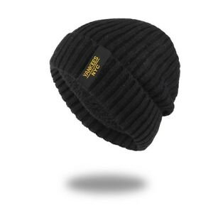 e76fee39a78 Details about AKIZON Winter Autumn Beanies Hat Unisex Warm Soft Skull  Knitting Cap for Men