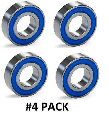10 PACK 6204-2RS C3 Premium Ball Bearing ZSKL