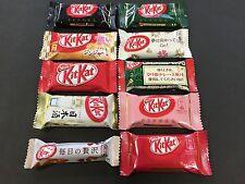 Nestle Kit Kat 10 Mix Flavor Assort Pack Chocolates KitKat Matcha MADE IN JAPAN