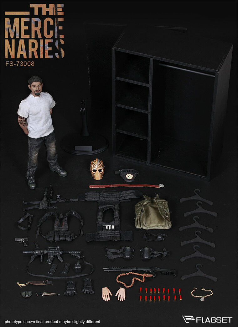 Flagset FS-73008 mercenarios enmasCocheados-figura Box set