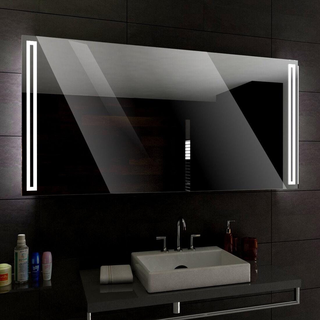 Rome éclairé del Miroir salle de Bain Led personnalisé Größe mesure