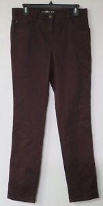 Online-Einzelhändler Leistungssportbekleidung bester Lieferant Details about Womens Brax Bx Mary Glamour Winter Dream 31/32 Pants Jeans  Purple Brand New