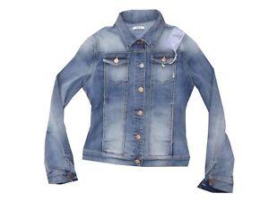 Donna Beach Jeans Giacca Slim Stretch 360 Giubbotto Fifty Four Corto wxqPnYFaF