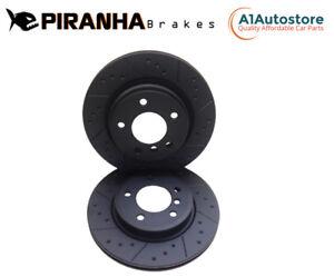Skoda Fabia 1.2 1.2TDi 1.2TSi 1.4 1.6TDi 10-15 Front Brake Discs 256mm Coated