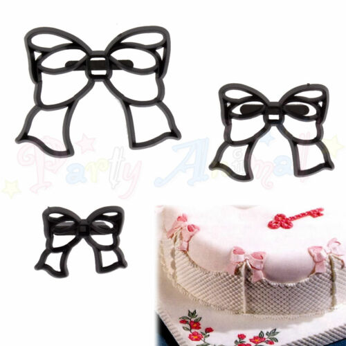 Sugarcraft Patchwork cutters Bow Set