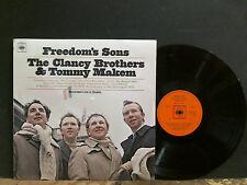 CLANCY BROTHERS & TOMMY MAKEM  Freedom's Sons  LP   Folk Irish   NEAR-MINT !