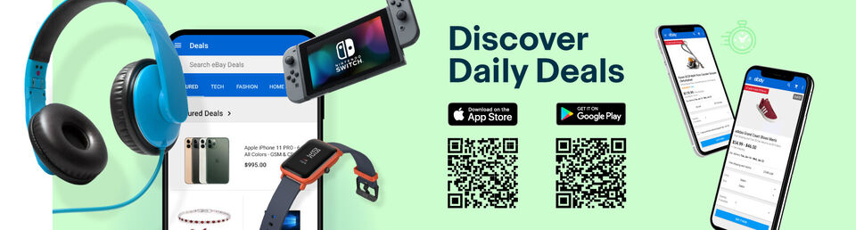 Download the App - Daily Deals on the eBay App