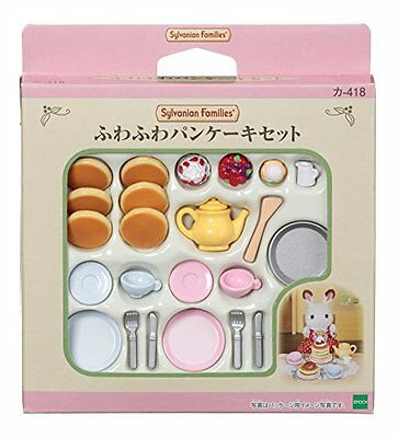 Calico Critters furniture delicious breakfast set
