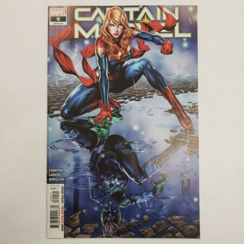 Captain Marvel # 9 first full appearance Star Max Brooks Cover A