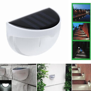 2018-Impermeable-6-LED-Capteur-de-lumiere-d-039-energie-solaire-Applique-murale-B6E2