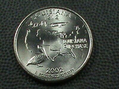 UNITED  STATES   25 Cents   2002  D   UNC  OHIO  *