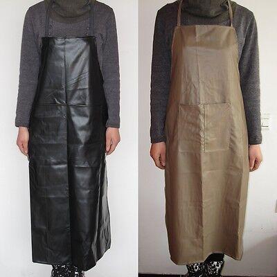 Industrial waterproof black khaki PVC aprons 120 × 60