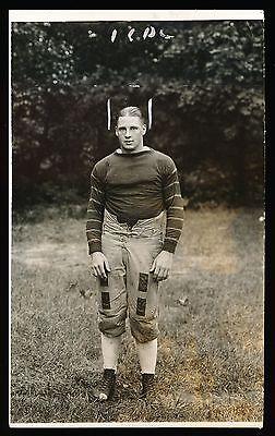 1920 TOM HOLLERAN Pittsburgh U. & Early NFL Vintage Football Photo