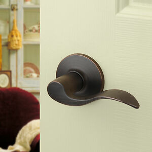 Image Is Loading Aged Oil Rubbed Bronze Passage Door Hardware Knob
