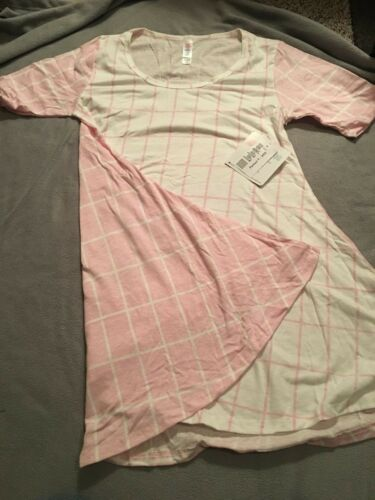 White T Lularoe Perfect Xxs And Pink qBzpY